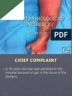 Clinico Pathological Conference