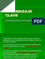 Aprendizaje Clave