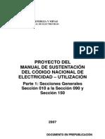 Manual DeJustificacion Del Codigo Nacional de Electricidad - Utilizacion