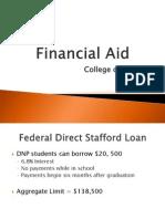 Financial Aid and Literacy-Nursing Orientation 2013