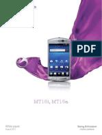 Whitepaper on Mt15 Sony Xperia