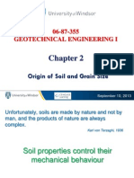 Chapter 2 Lecture - Mechanical Analysis of Soil Content