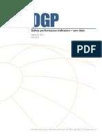 Safety performance indicators – 2011 data