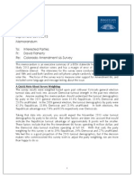 Magellan Strategies Colorado Amendment 66 Survey Executive Summary Memorandum 092013