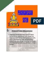 Pengorganisasian sistem