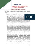 Tema 8 Dictadura Franco en Canarias