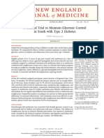 A Clinical Trial to Maintain Glycemic Control in Youth With Type 2 Diabetes