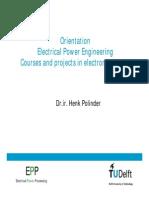 Orientation Electromechanics