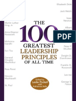 Leslie Pockell & Adrienne Avila - The 100 Greatest Leadership Principles