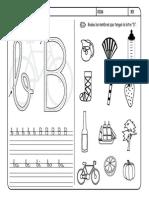 Fichas de la letra B.pdf