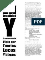 146145538 La Legalidad y Transparencia Vista Por Los Tuertos Locos y Bizcos Por Zanto Varon
