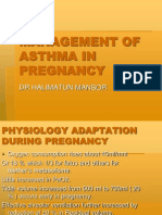 Management of Asthma in Pregnancy