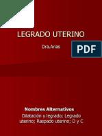 LEGRADO UTERINO