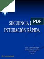 Secuencia Intubacion Ra