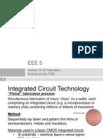 EEE5 Lec14 IC Fab Scaling ITRS