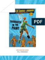 Sasquatch in the Paint discussion guide
