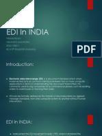 Edi in India