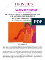 Jan & Dagny Runnqvist Collection - Christie's Paris 26 October 2013