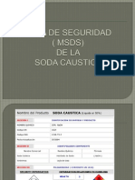 Msds, Soda Caustica