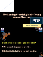 Welcoming Creativity In the Young Learner Classroom