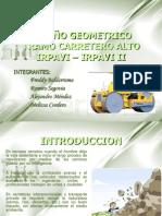 Diseño Geometrico Tramo Carreteras-II