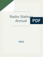 Radio Stations Directory - 1942