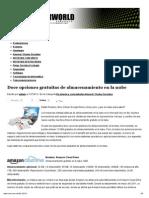 Doce Opciones Gratuitas de Almacenamiento en La Nube _ Computerworld Venezuela