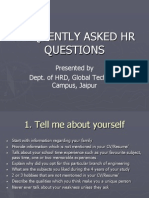 Frequently Asked Hr Questions