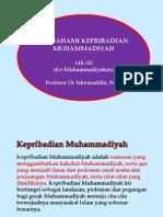 Memahami Kepribadian Muhammadiyah AIK III S5