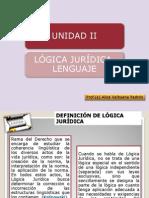 Unidad  II LOGICA JURIDICA. LENGUAJE.ppt
