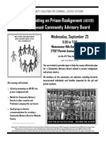 Community Meeting on AB-109 Prison Realignment