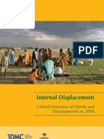 IDMC Internal Displacement Global Overview 2008