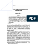 Seismic Rays and Ray Intensities in Inhomogeneous Anisotropic Media