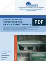 Ficha Soluciones Constructivas Soporte de Tina Aislacentro