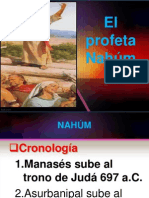 El Profeta Nahum
