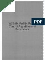2WCDMA RAN14 Radio Net Fea Alg Tr1 Power Cont