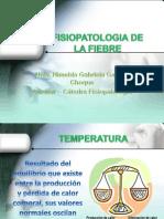 Fisiopatologia de La Fiebre