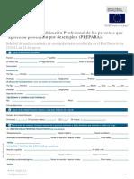 Impreso Solicitud Plan Prepara