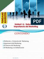Unidad I a Naturaleza e Importancia Del Marketing PDF