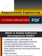 RE in Global Software Development
