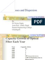 d. Lecture 3 - Fiber Losses and Dispersion 8 March 06