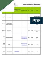 Horario de Consultas 2013 Actualizado Al Mes de Abril