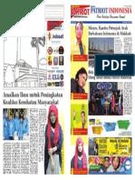 Media Patriot Indonesia MPI Edisi 20 Halaman 1 & 16