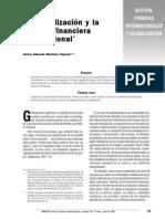 Globalizacion y Gestion Financiera Internacional