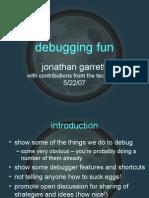 Debugging Fun