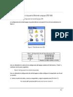 Guía para conexión a ZTE 1300 via ethernet