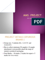 Project MMS