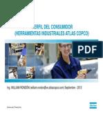 PERFIL DEL CONSUMIDOR SEGUN CRITERIOS DE SEGMENTACIÓN ATLAS COPCO HERRAMIENTAS INDUSTRIALES