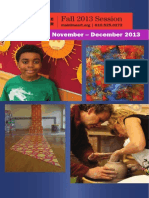 Main Line Art Center's Fall Session 2 Brochure