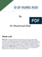 Analysis of Humic Acid (Final Version)
